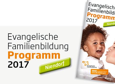 Evangelischen Familienbildung - Programm und Kurse 2017